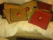 Vintage Record Albums x 4 and singles (57 records in total)